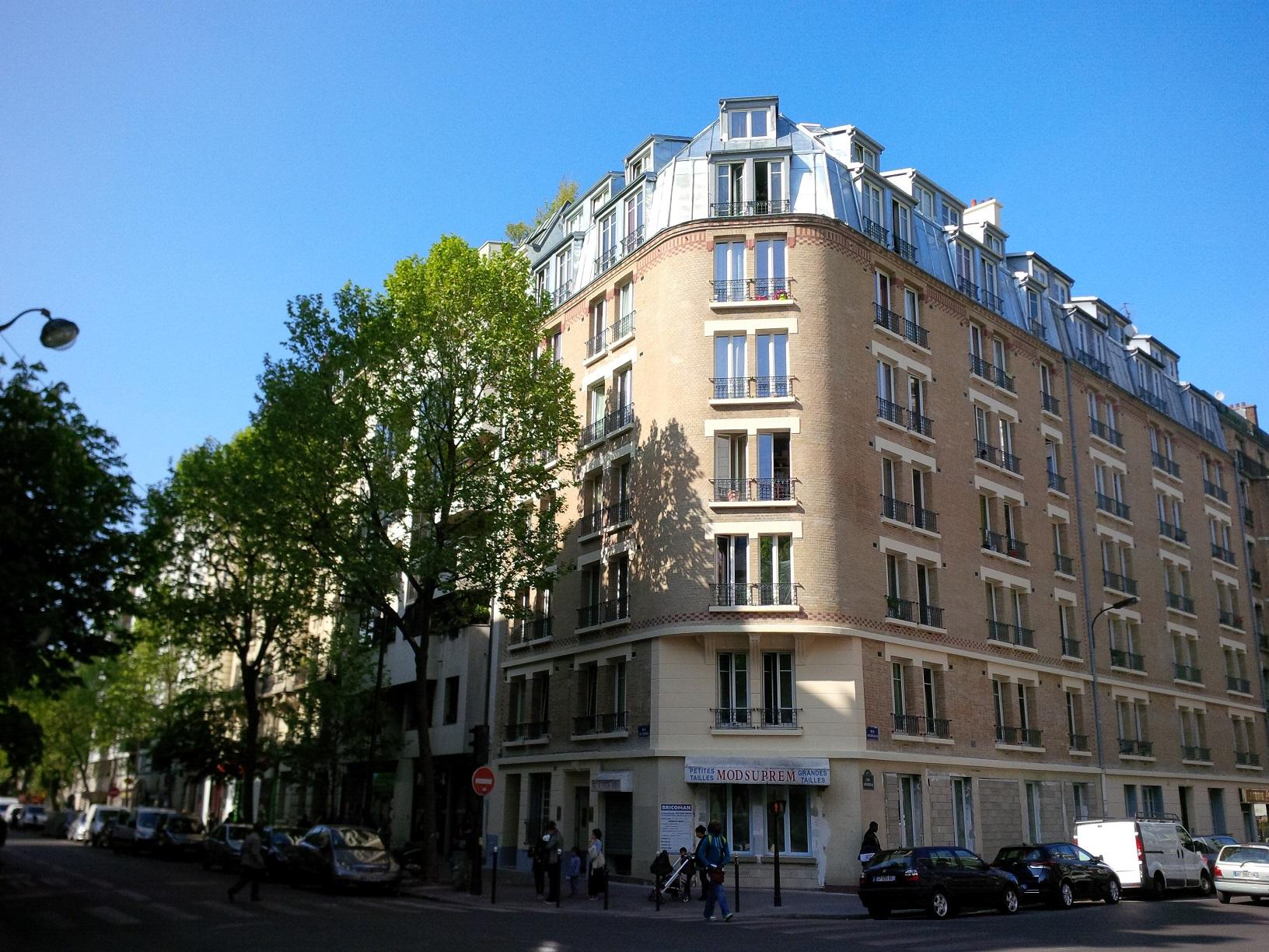 Beau studio refait neuf PARIS 19è Mo Crimée