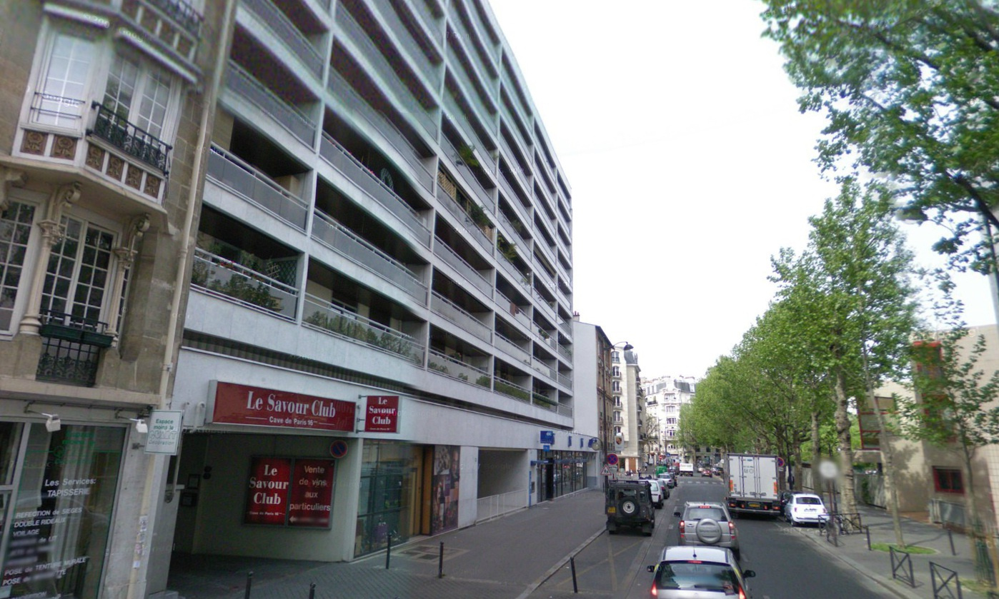 PARKING A LOUER PARIS 16è proche Maison de la Radio